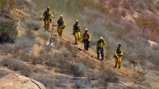 [DGO] Flume Fire Burns Along SR-94