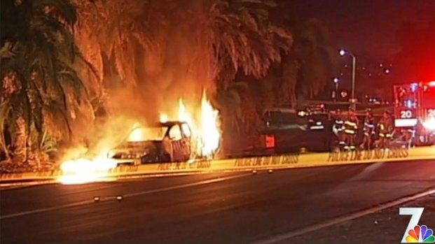 [DGO] Bullet Casings Found Near Truck Fire