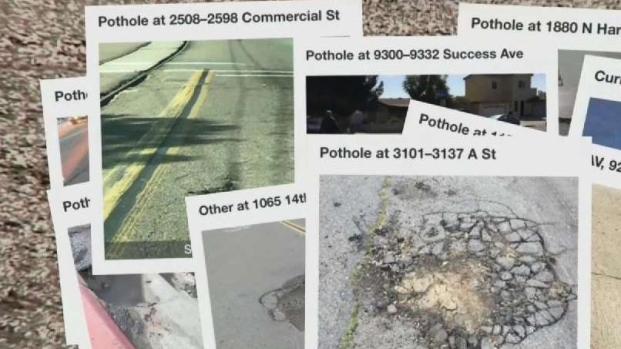 City Overwhelmed by Pothole Problems