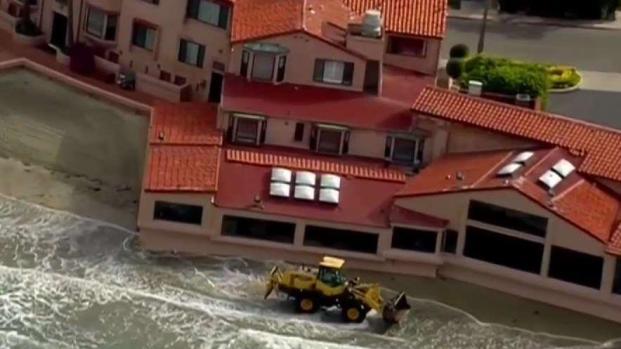 Coastal Communities Prep for Incoming Rain
