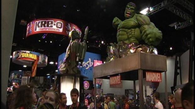 [LA] The First Day at Comic-Con 2011