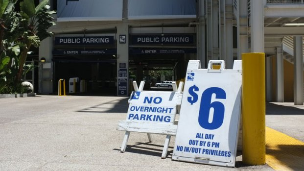 Parking Rates Before and After Comic-Con 2012