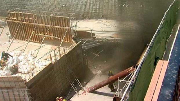 [DGO] Fire Crews Fight Underground Fire: Raw Video