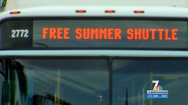 [DGO] Free Summer Shuttle to Coronado