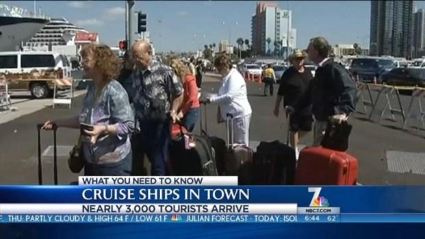 [DGO] 3 Cruise Ships Arrive Downtown