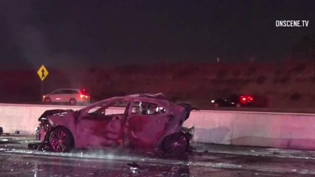 DUI Suspect in Fiery Crash on I-15 Charged With Murder