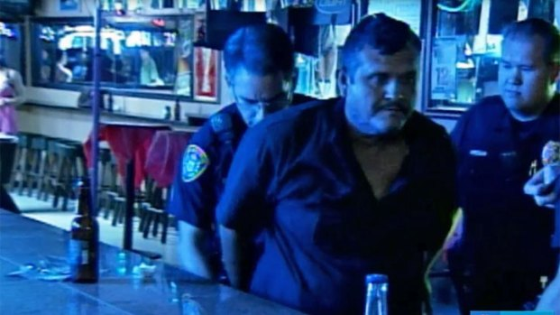 [RESTRICTED] Dad Arrested in Bar