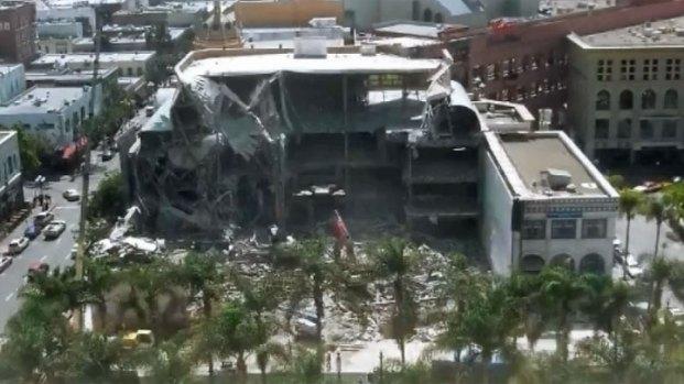 [DGO] Horton Plaza Demolition Time-lapse