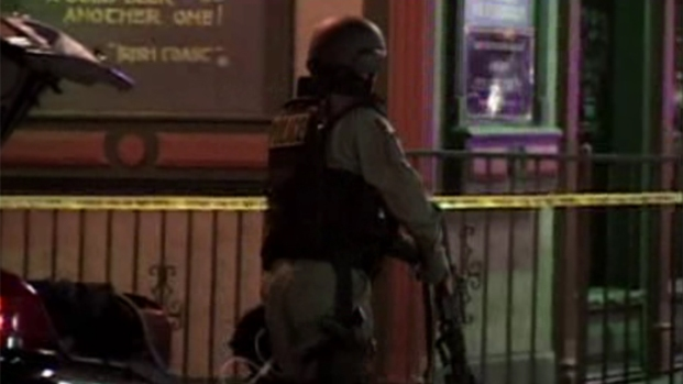 Police Shoot Suspect in Gaslamp Standoff