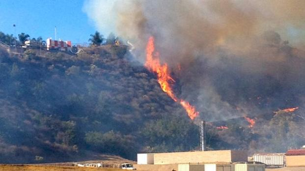 [DGO] El Cajon Brush Fire Sparked by Police Training