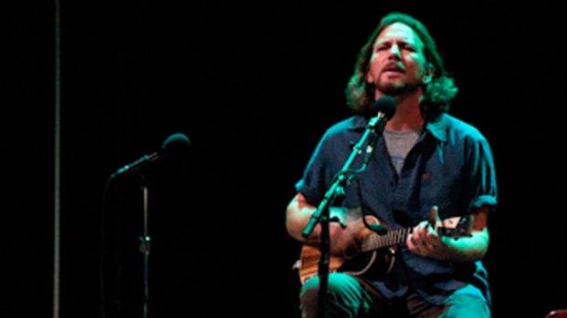 Eddie Vedder's Ukulele Jam @ Symphony Hall