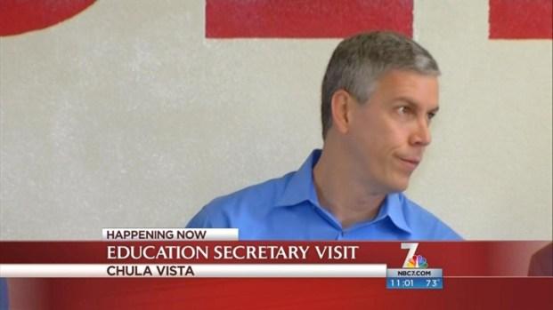 [DGO] Sec. Arne Duncan Visits Chula Vista School