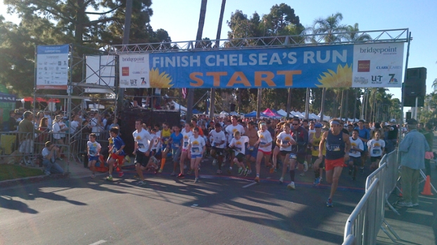 Locals Unite for 3rd Annual 'Finish Chelsea's Run'