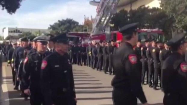 [DGO] Firefighters From Across County Pay Respects to Fallen Firefighter