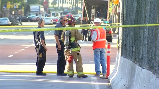 Crews Cap Gas Leak Near Horton Plaza