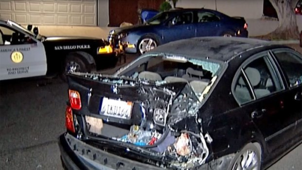 [DGO] Driver Slams into Parked Cars in Grantville