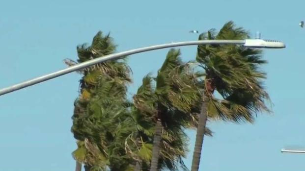 Gust Winds to Reach San Diego Tuesday