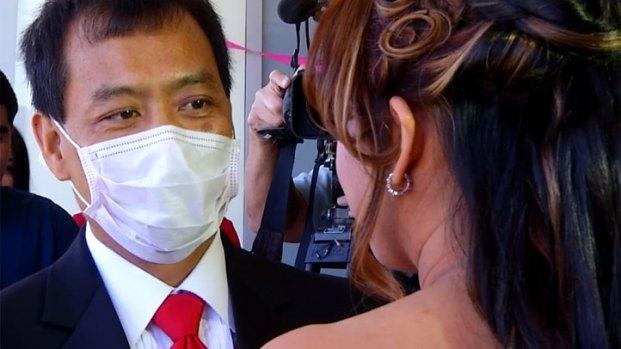 [DGO] Heart Transplant Patient Weds at Sharp Hospital