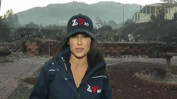 Homes Destroyed at Bonsall Mobile Home Park