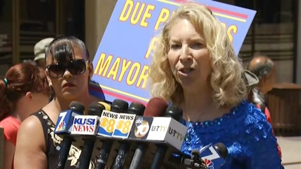 "[DGO]Filner Supporter: ""This Is Not Due Process"""