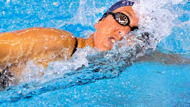 [DGO] Olympic Gold Medalist Janet Evans Returns to the Pool