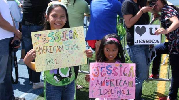 Jessica Sanchez American Idol Finalist Visits San Diego: Images