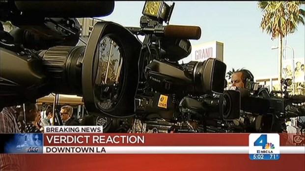 [LA] Michael Jackson Fans Disappointed in AEG Verdict