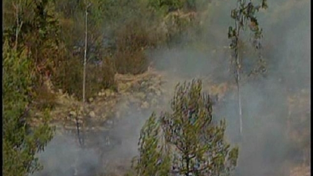 [DGO] Brush Fire Burning Near Homes in Santee