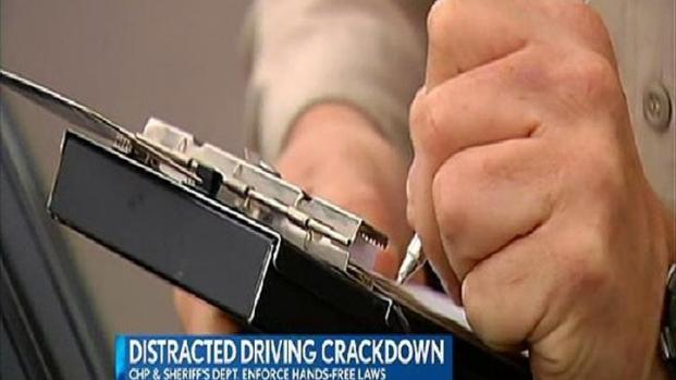 [DGO] CHP to Conduct Major Crackdown on Distracted Drivers