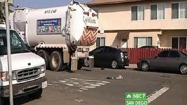 [DGO] Child Suffers Major Injuries After Hit by Trash Truck