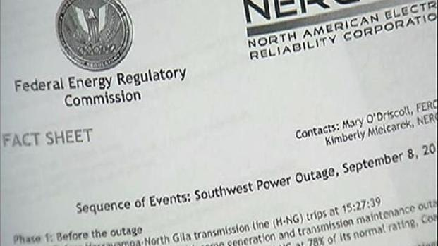 Feds Release Power Outage Report - NBC 7 San Diego