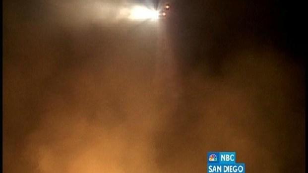 [DGO] Fire Burns 3 Acres in MissionTrails Park