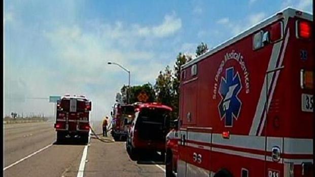 [DGO] Inconvenient Fire Burns I-5 Commuters