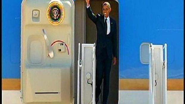 [DGO] Obama Lands at MCAS Miramar