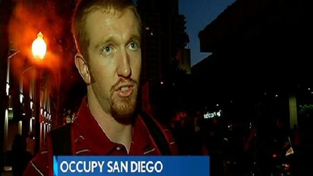 [DGO] Protesters Camp Out for Occupy San Diego