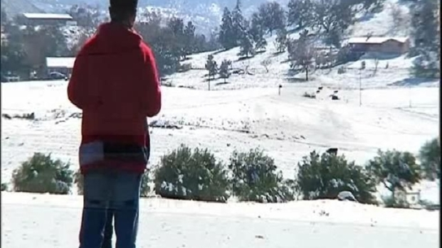 [DGO] Snow Gets Low in Ramona