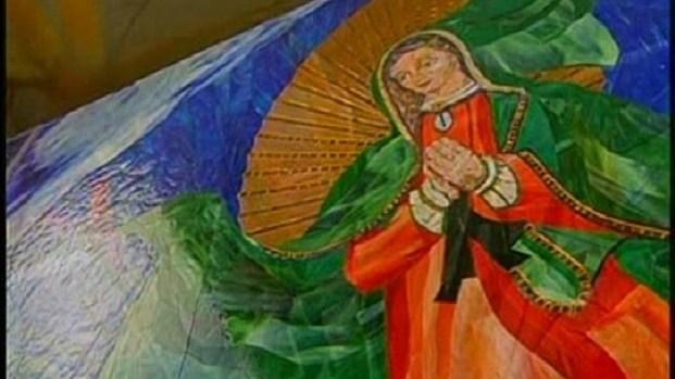 [DGO] Surfing Madonna Mosaic Presents Dilemma for City of Encinitas