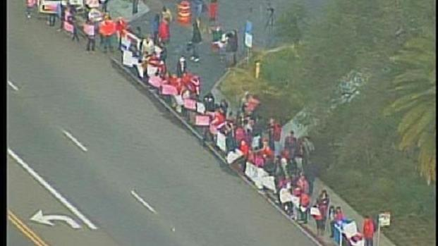 [DGO] Teachers Protest Pink Slips in Talmadge