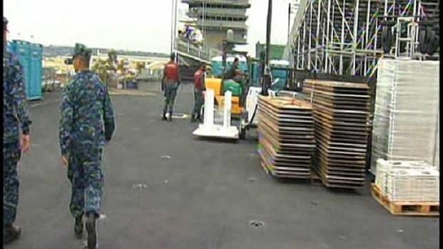 [DGO] USS Carl Vinson Preps for Obama's Visit