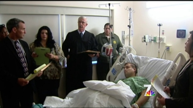 [DGO] Lakeside Shooting Suspect Appears in Hospital Arraignment