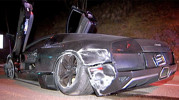 [G] Lamborghini Crash in La Jolla