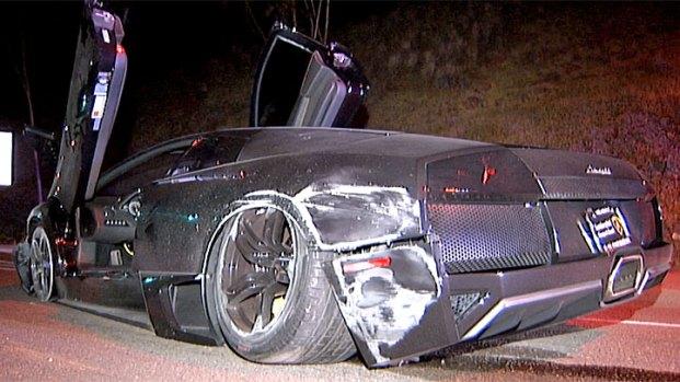 lamborghini crashes in la jolla, cops search for driver - nbc 7 san