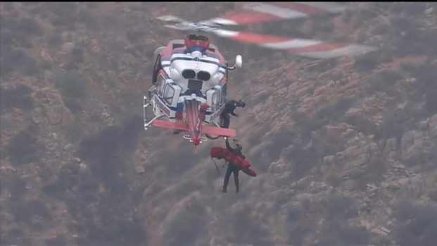 [DGO] Watch: Injured Woman Rescued from Cowles Mt