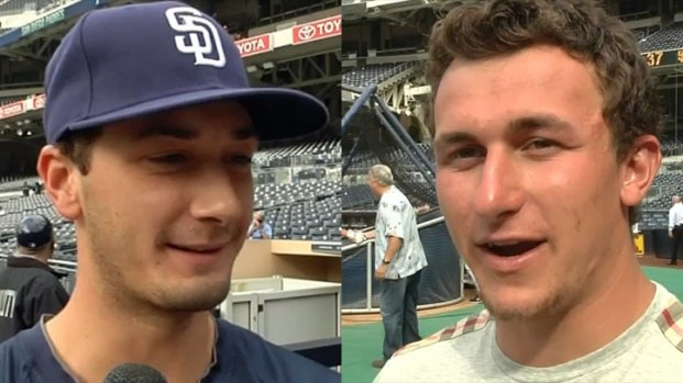 [DGO] Why Johnny Manziel Called Padres Pitcher Burch Smith a Punk