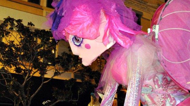 San Diego's Gaslamp Celebrates Mardi Gras