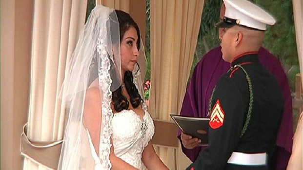 [DGO] Marine Couple Wins Dream Wedding