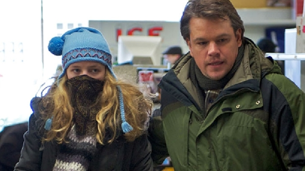 "[NATL] Matt Damon Prepares For ""Contagion"""