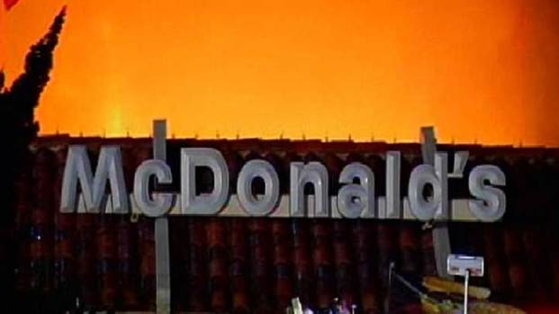 [DGO] McDonald's Fire Sounded Like a Bomb: Witness