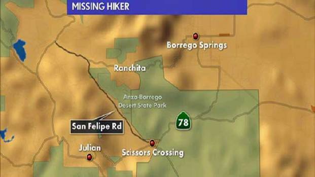 Hiker Missing in the Badlands Near Borrego Springs: Images