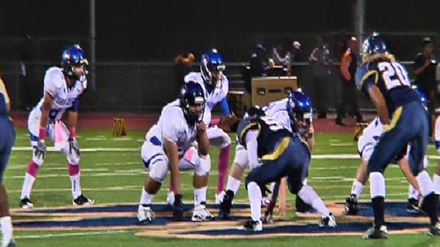 San Diego High QB Injured During Game